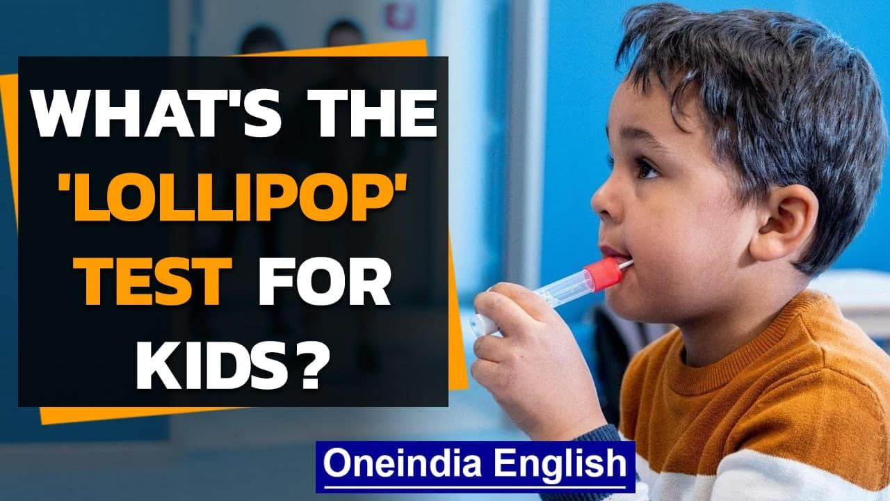 Germany: A new Covid test for children: the 'lollipop' test