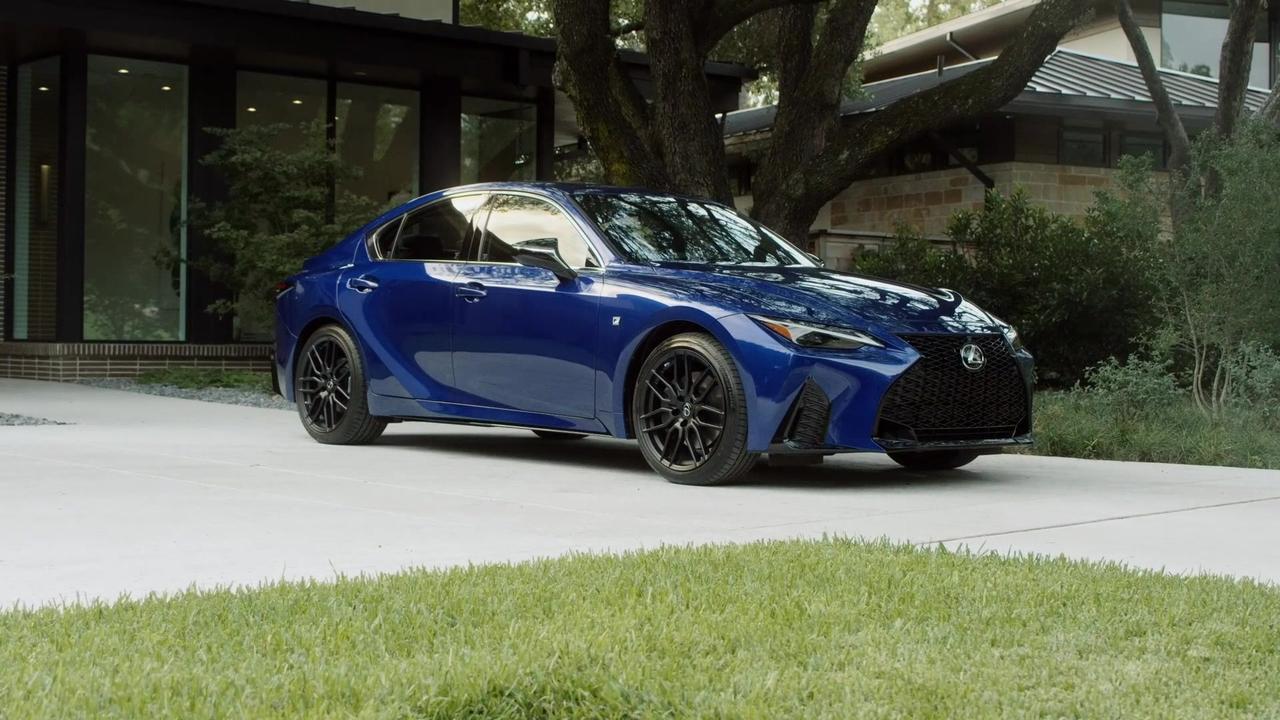 2021 Lexus IS 350 IS F SPORT Design in Ultrasonic