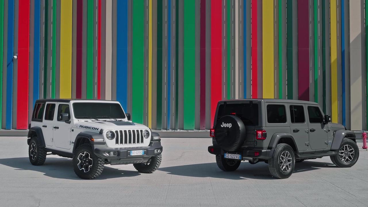 Jeep® Wrangler 4xe - Sahara and Rubicon