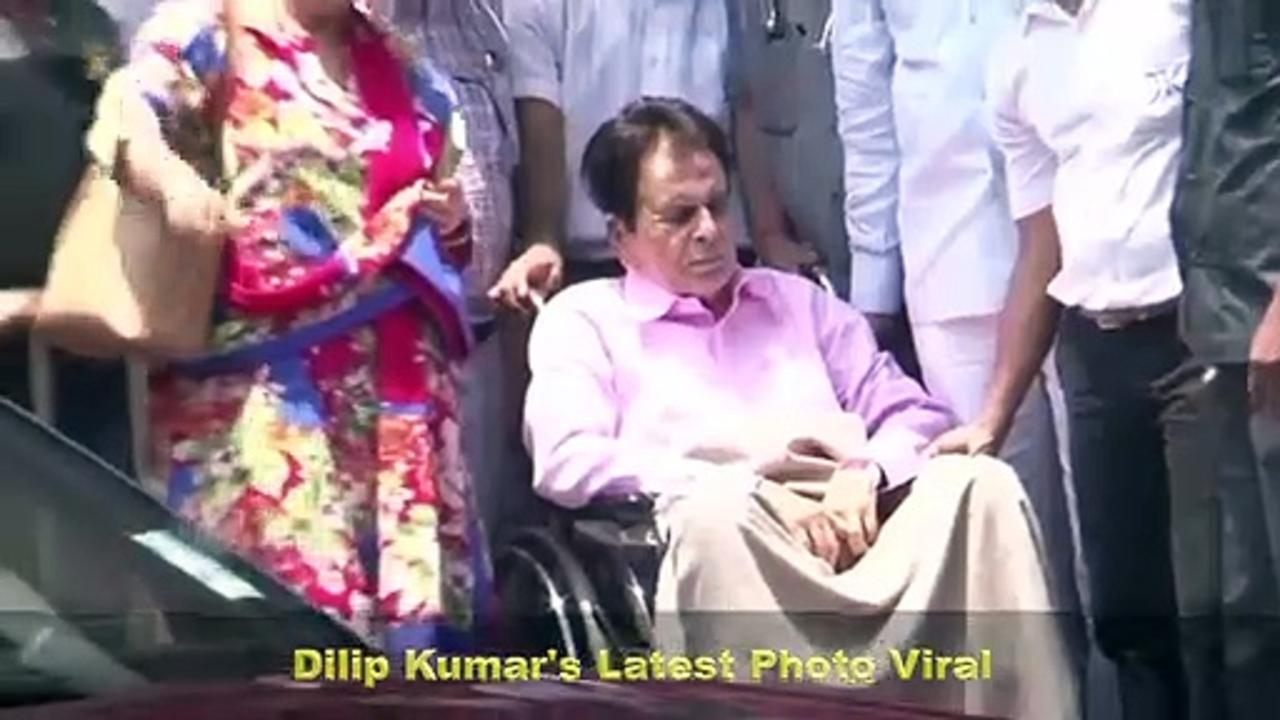 Dilip Kumar's Latest Photo From Hospital | Saira Bano Writes मेरे कोहिनूर, मेरे साहब