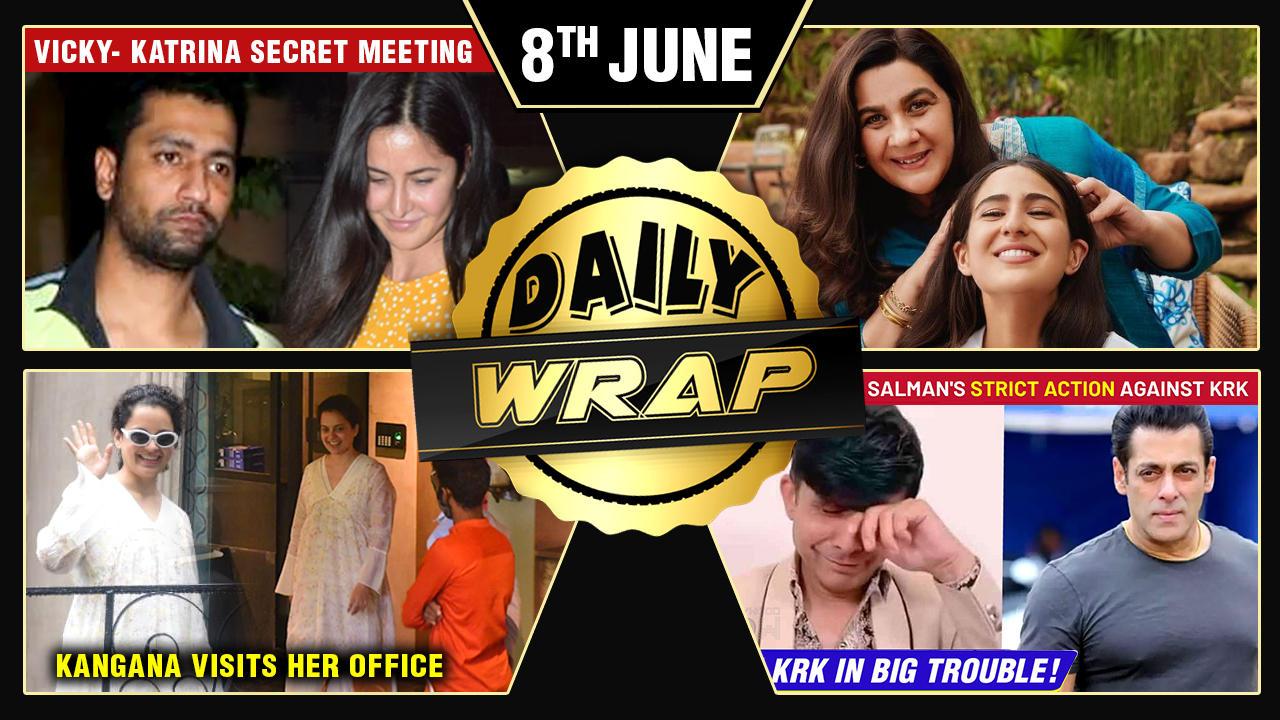 Kangana Starts Rebuilding Her Office,KRK Slams Salman,Kareena Demands Huge Fees For Sita Top 10 News
