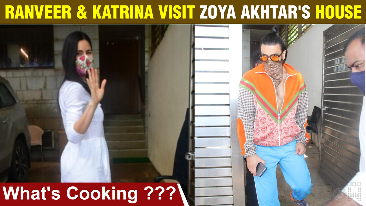 Katrina Kaif & Ranveer Singh To Star In Zoya Akhtar's Next Film | Both Clicked At Director's Home
