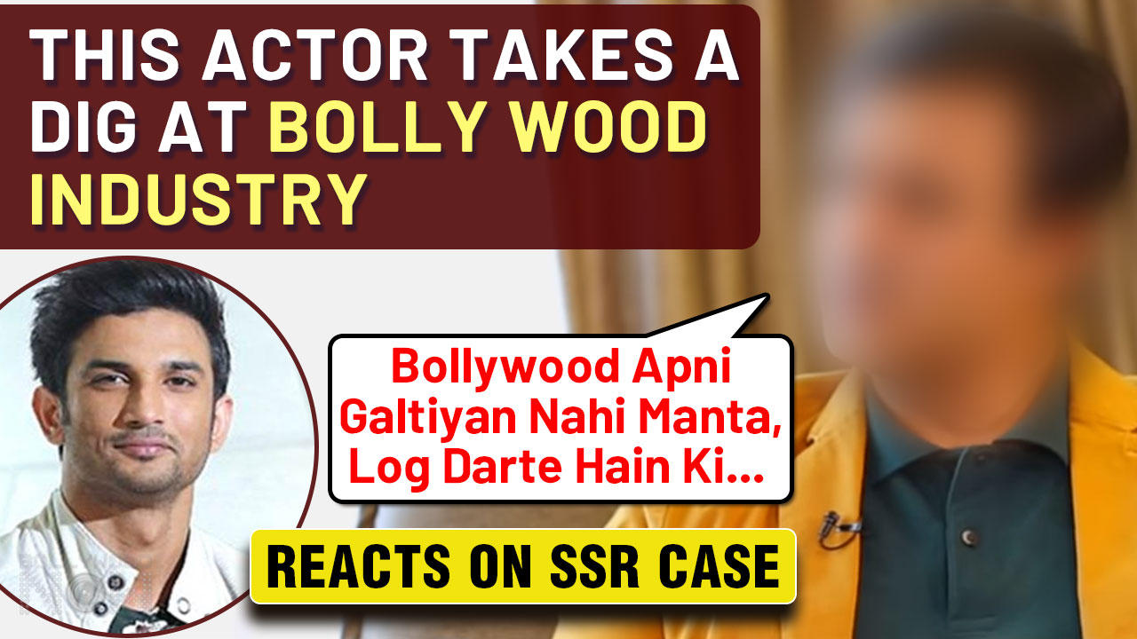 This Famous Actor SLAMS Bollywood Industry, Gives Big Statement On Sushant Singh Rajput Case