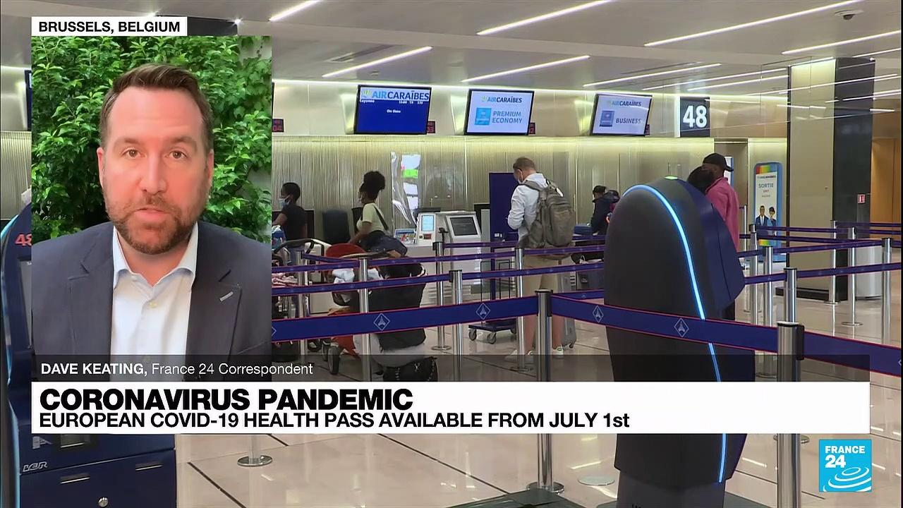 Coronavirus pandemic: European Covid-19 health pass available from July 1st