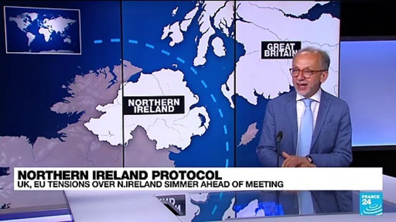 UK, EU tensions over Northern Ireland simmer ahead of meeting