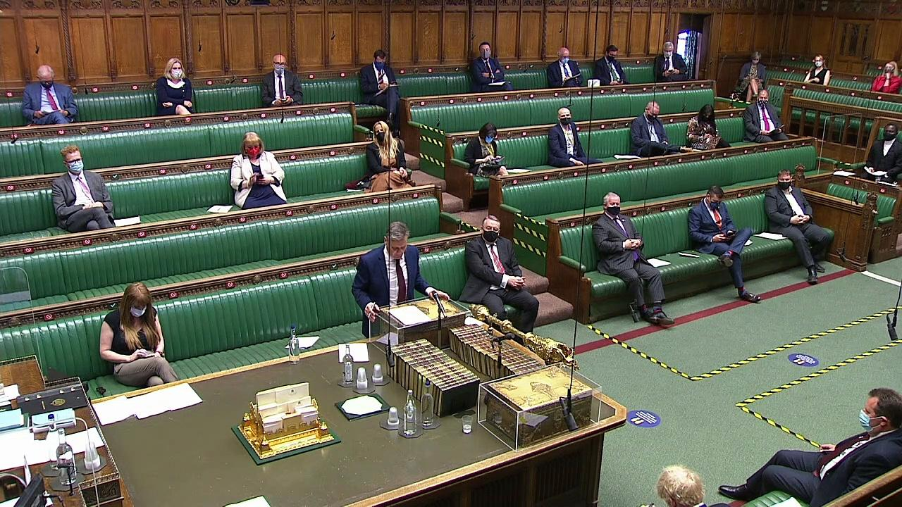 Starmer calls on PM to renew Middle East peace process