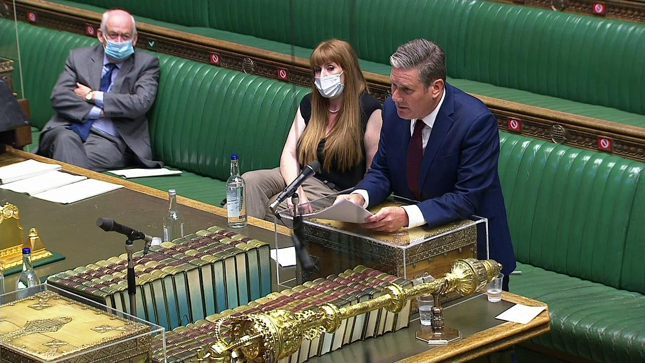 Starmer accuses PM of being all over the place on education