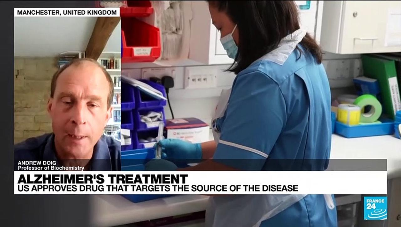 Alzheimer's treatment: US approves dug that targets the source of the disease