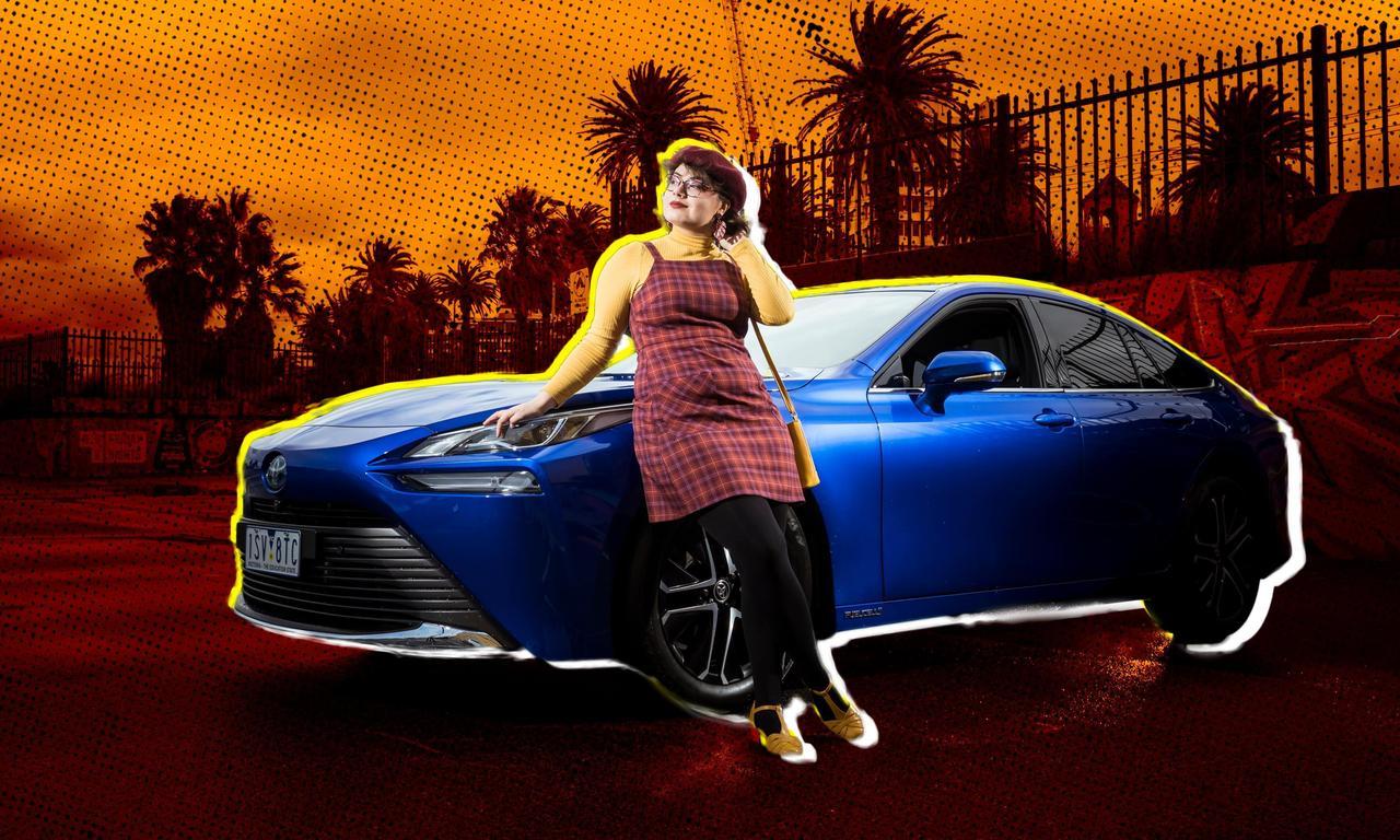 Toyota Mirai: can a hydrogen-fuelled car win over Australians?