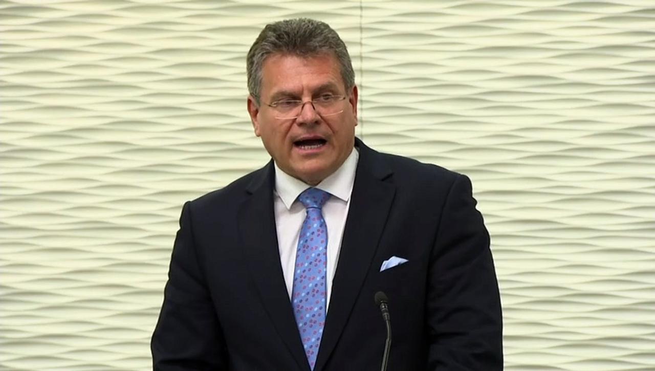 EU and UK at crossroads on NI Protocol, vice president says