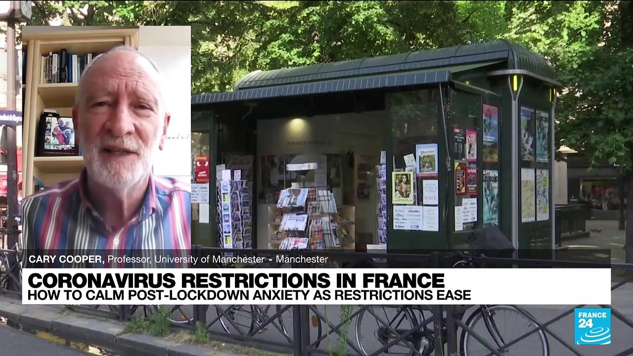 covid19 restrictions in France: how to calm post-lockdown anxiety as restrictions ease