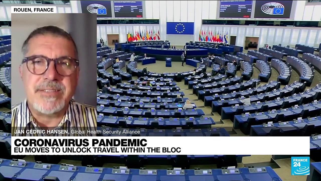 Coronavirus pandemic, EU moves to unlock travel within the bloc