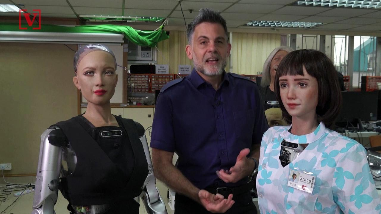 Meet the New Humanoid, Grace, Birthed From Covid-19