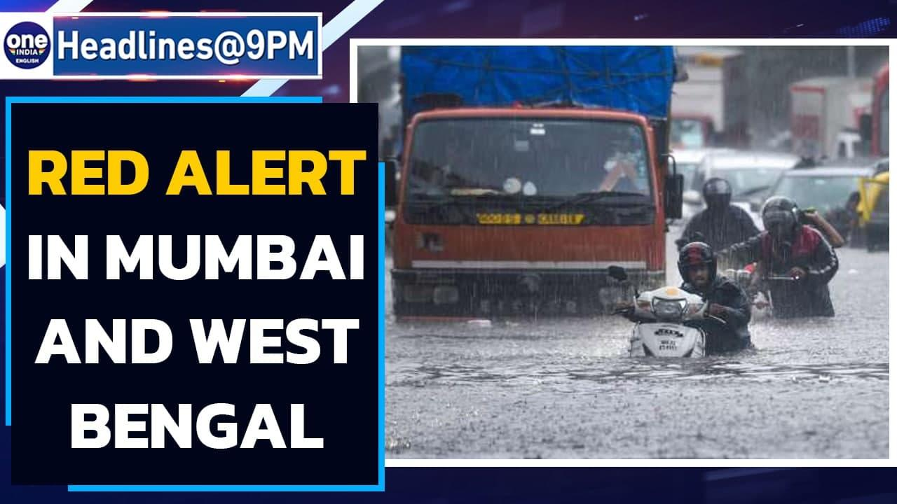 Southwest monsoon: Mumbai on red alert; Low-pressure to form over Bay of Bengal | Oneindia News