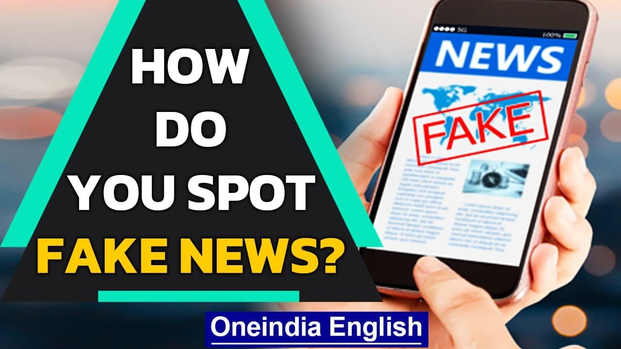 Fake news: Know how to spot one. Disinformation is the weapon in the propaganda world |Oneindia News