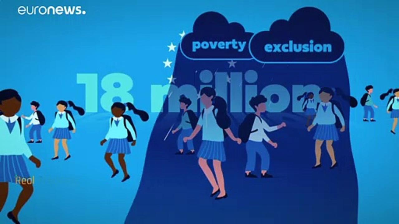 18 million children live in poverty in the European Union