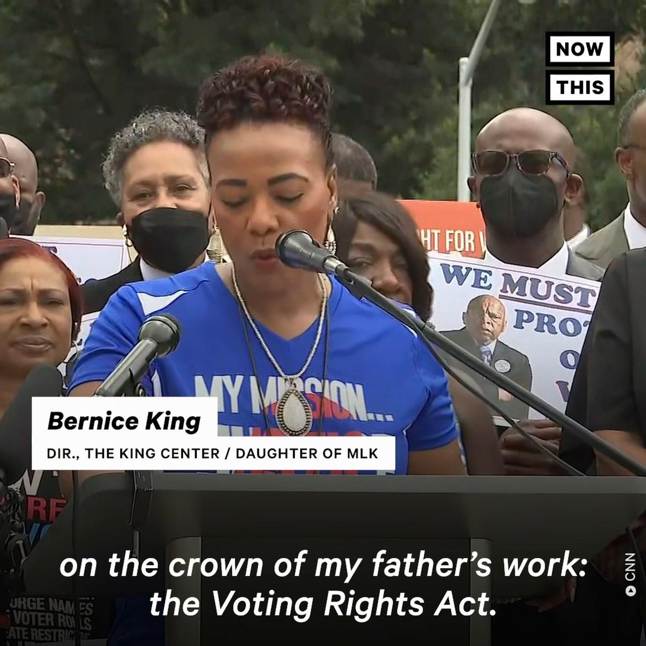 Bernice King Says MLK's Work is Under 'Assault'
