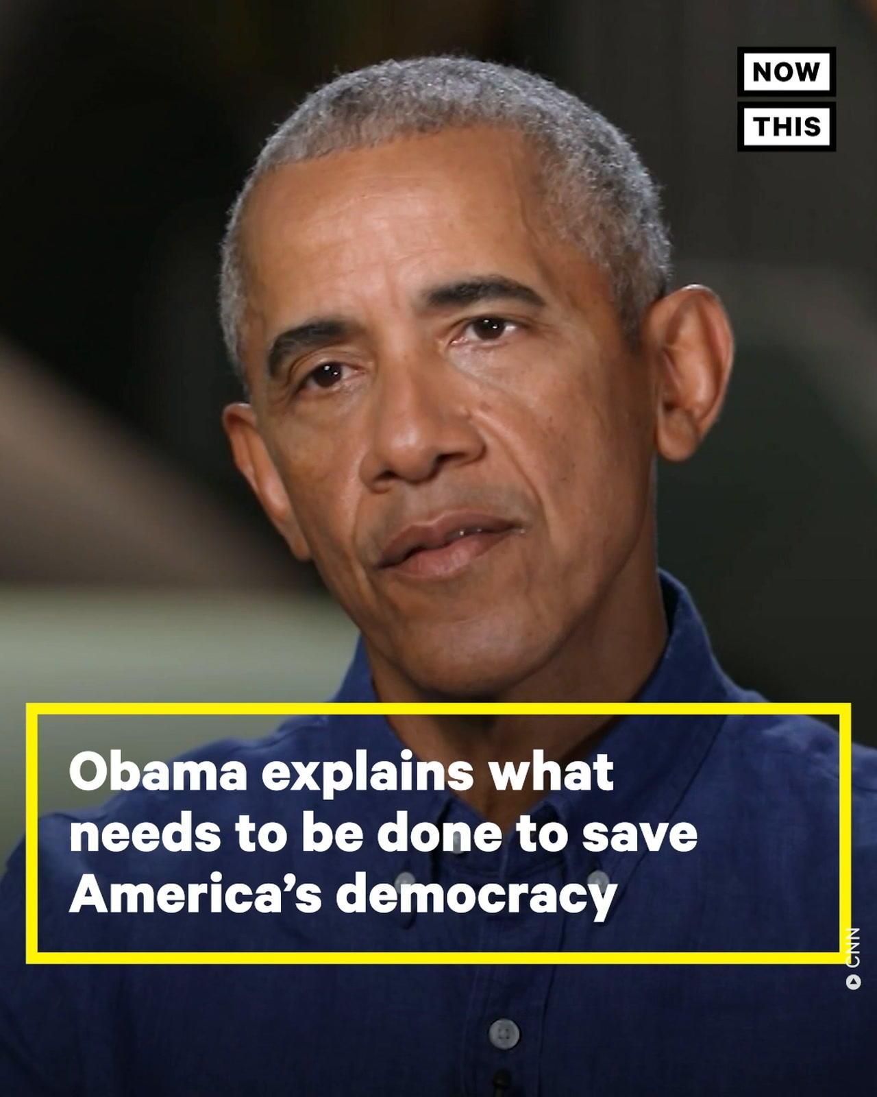 Barack Obama Speaks About Saving America's Democracy