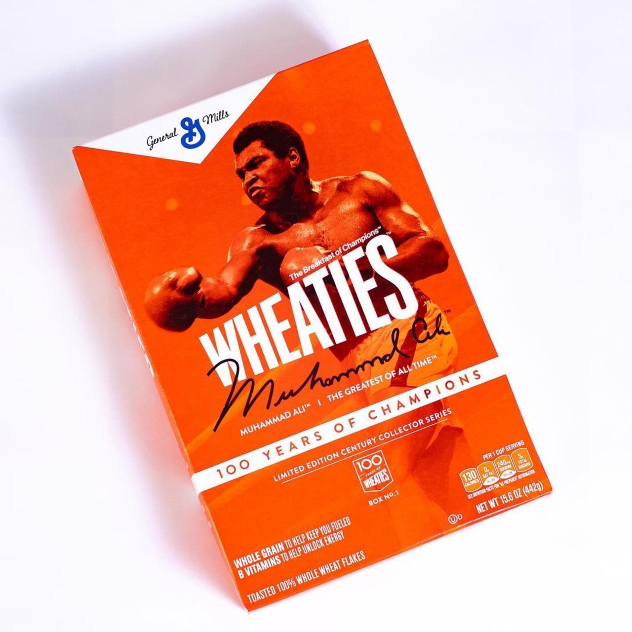 Wheaties Celebrates 100th Birthday With Commemorative Muhammad Ali Box