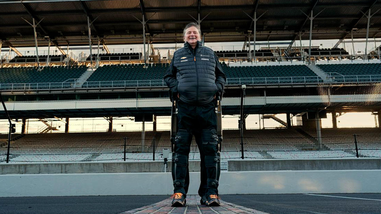 Paralyzed Race Car Driver Walks For First Time In Two Decades