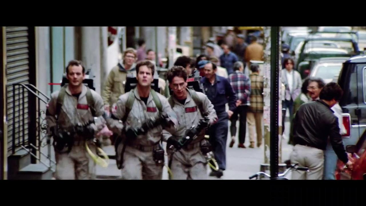 GHOSTBUSTERS AFTERLIFE Movie - Passing the Proton Pack