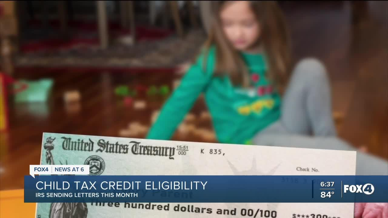 IRS sending notification to families eligible for child tax credit