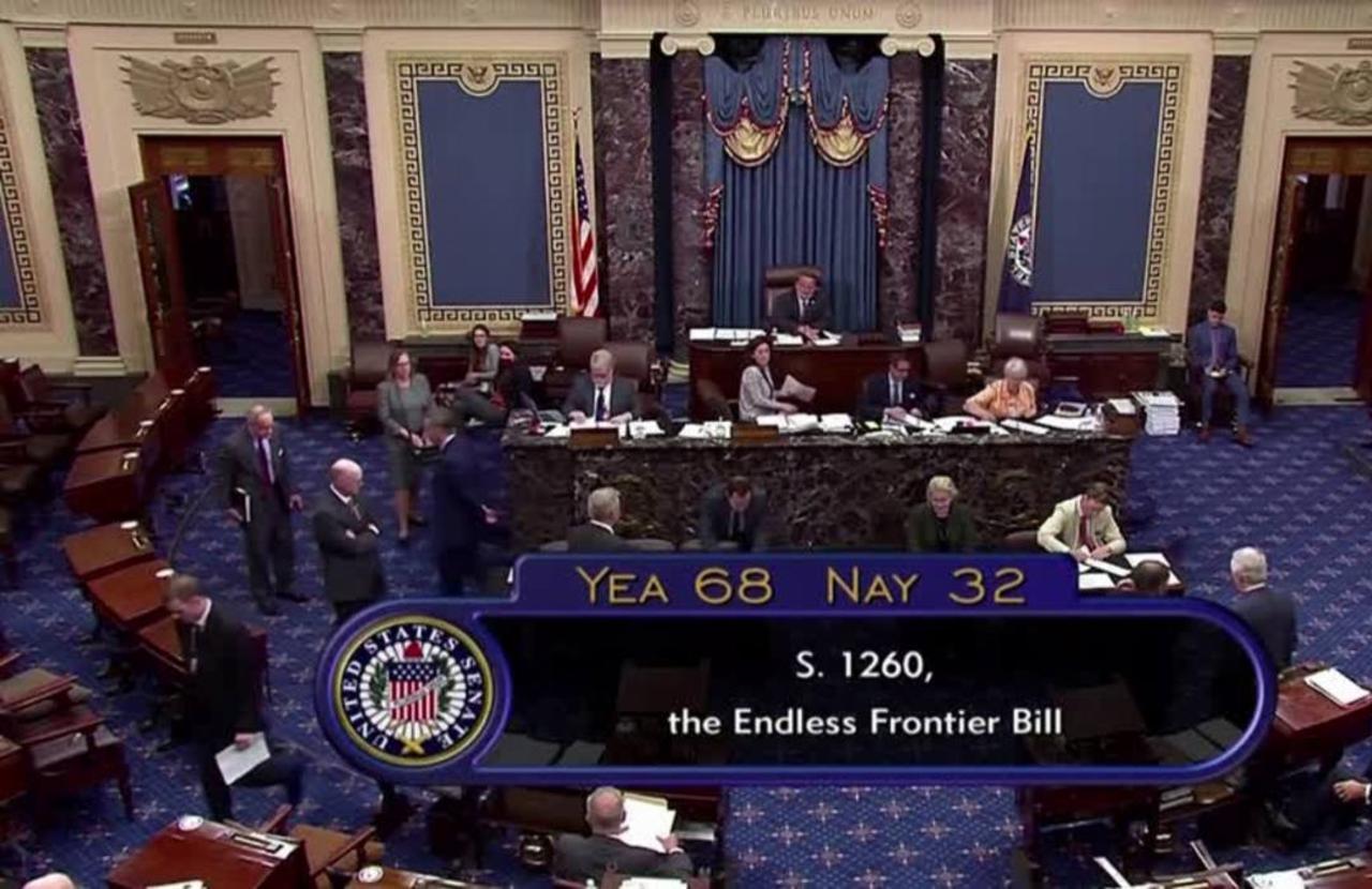 U.S. Senate passes bill to address China tech threat