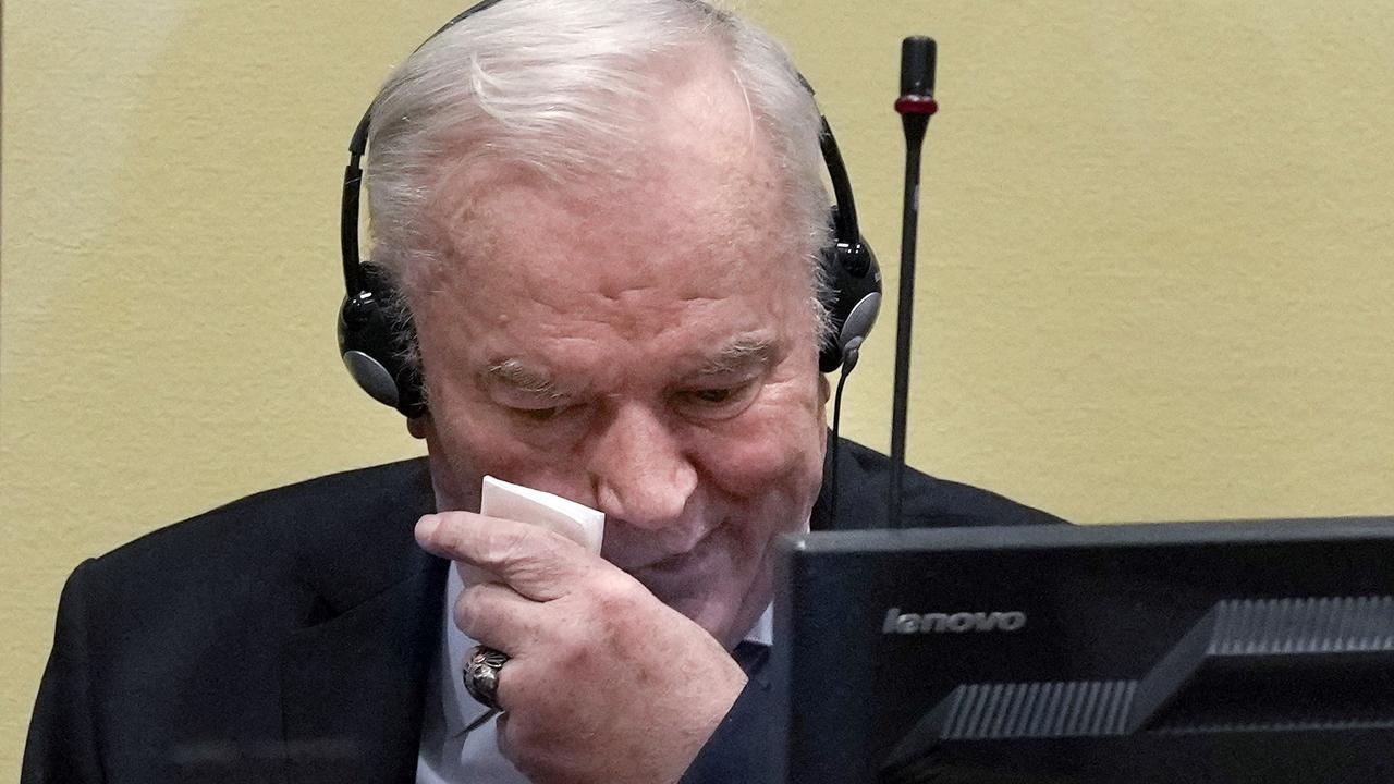 Srebrenica massacre: UN court upholds Ratko Mladic's genocide conviction