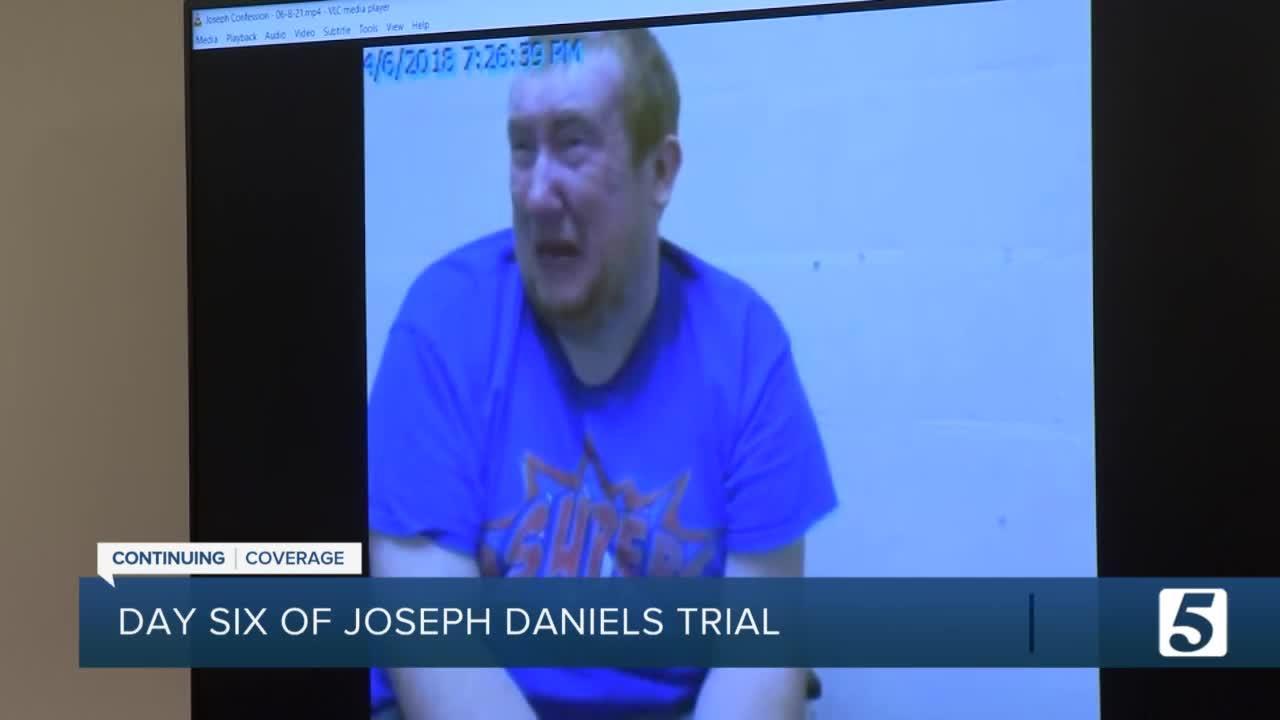 Day 6 of Joseph Daniels trial: Witness testimony to continue
