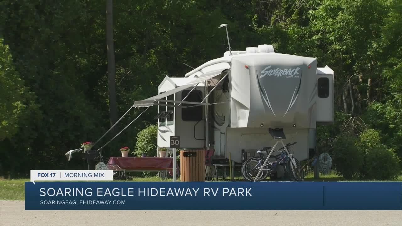 Enjoy summer at Soaring Eagle Hideaway RV Park