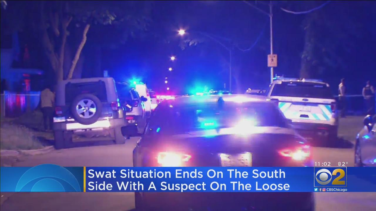SWAT Situation Ends On The South Side With Shooting Suspect On The Loose