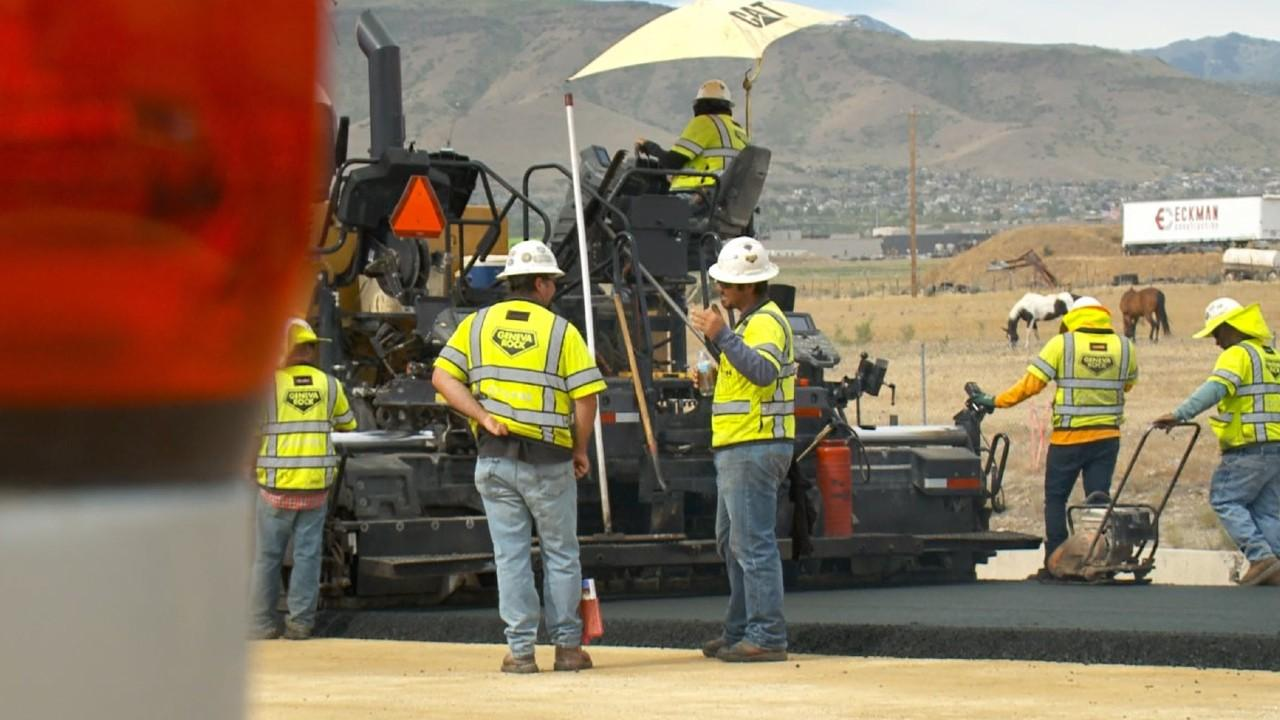Keeping UDOT workers safe from drivers, heat