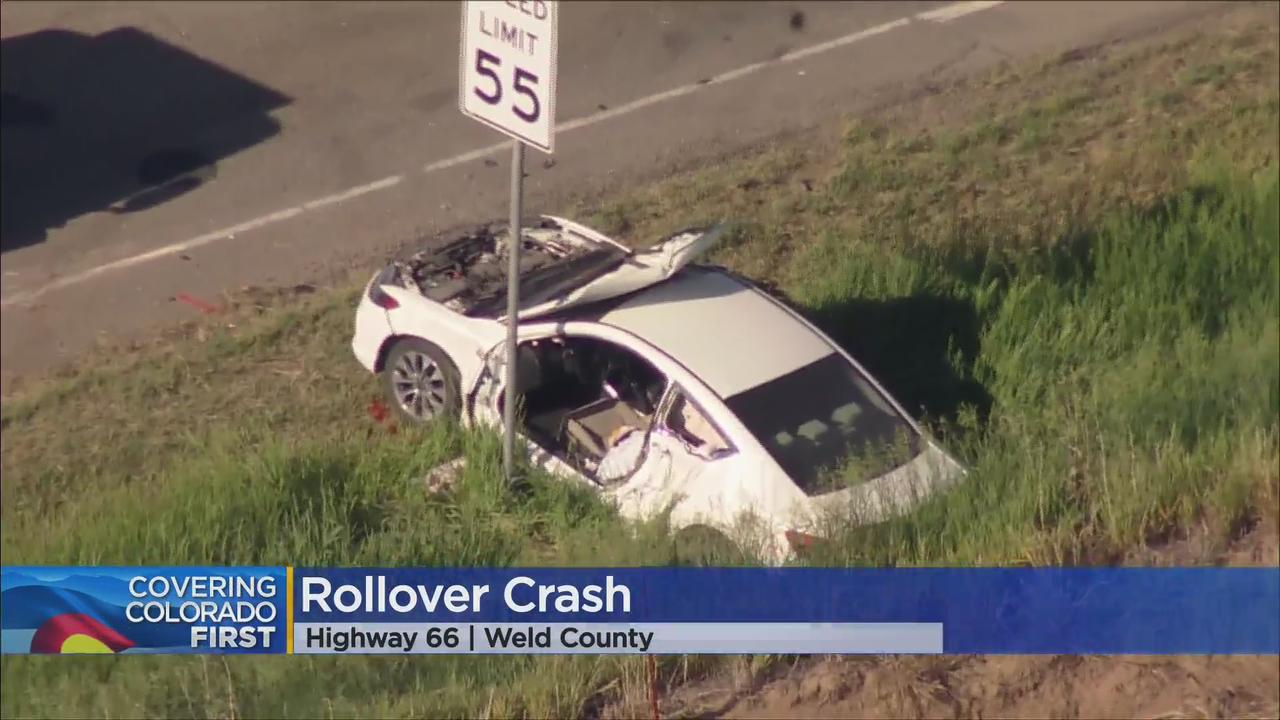 Multiple Vehicle Crash Leads To Closure Of Highway 66 In Weld County