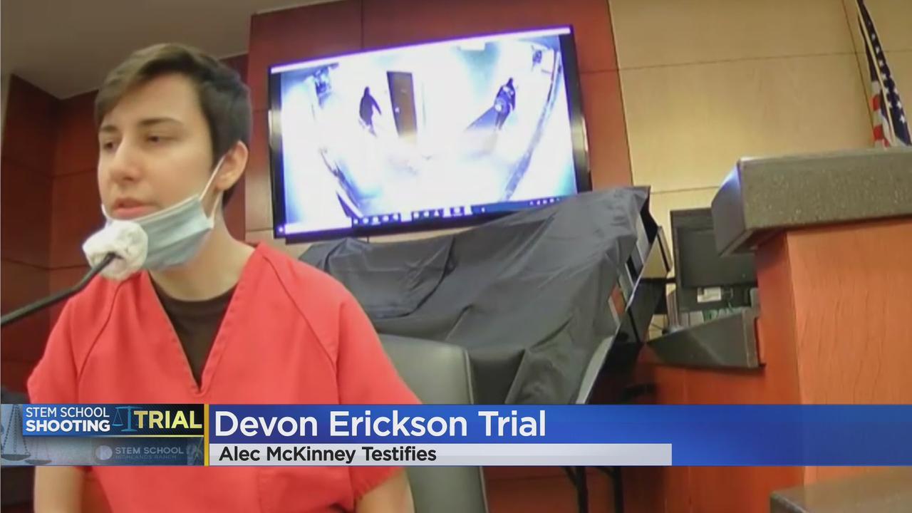 WATCH: Alec McKinney Continues Testimony In Devon Erickson's Murder Trial For STEM School Shooting