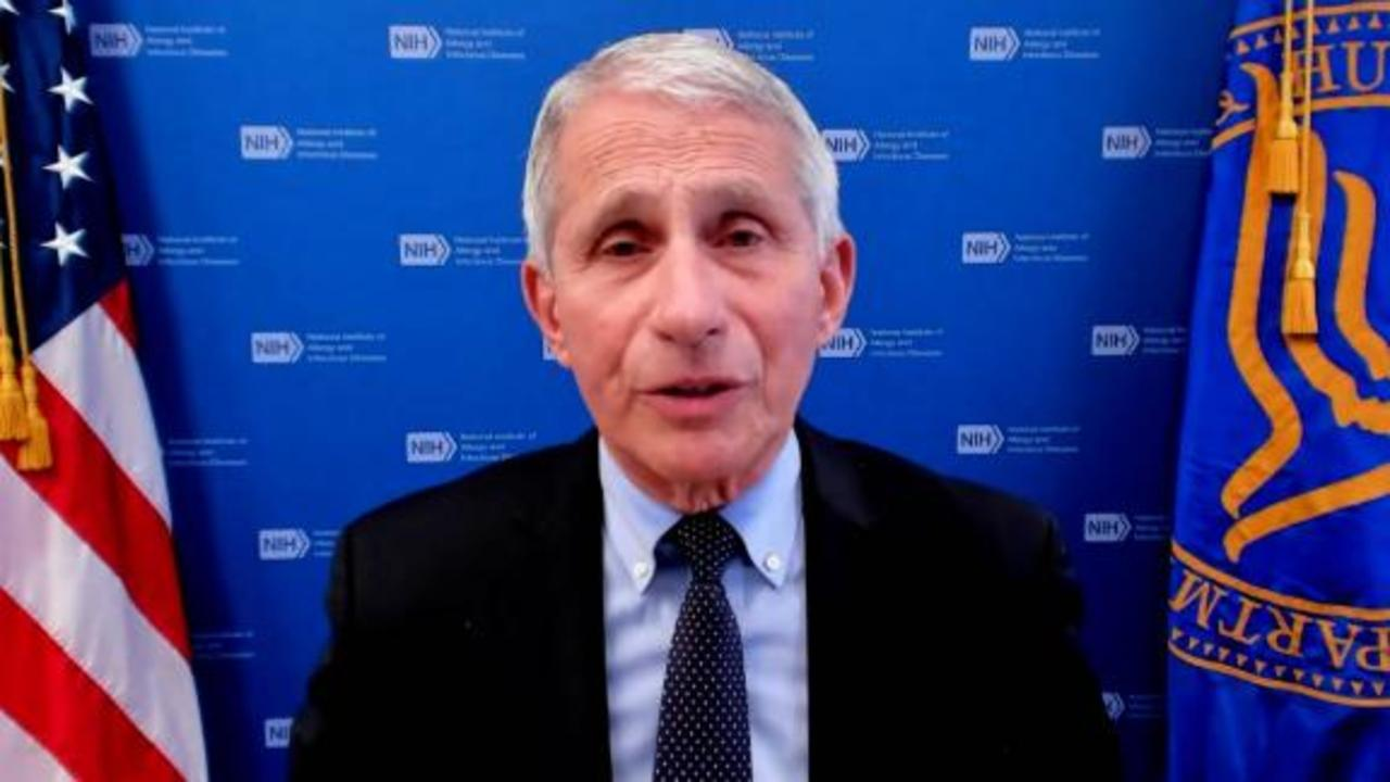 Dr. Fauci: We can't declare victory too prematurely