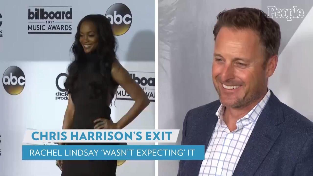 Rachel Lindsay Says She 'Didn't Expect' Chris Harrison to Leave Bachelor Franchise