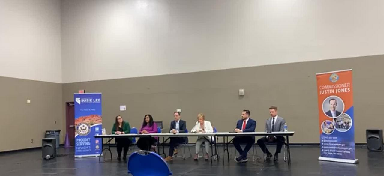 Nevada leaders hold forum helping those facing eviction