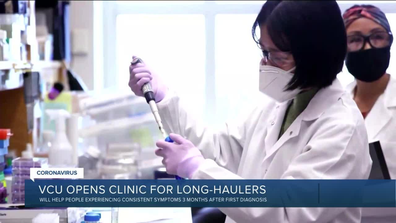 VCU opens clinic for COVID19 long-haulers