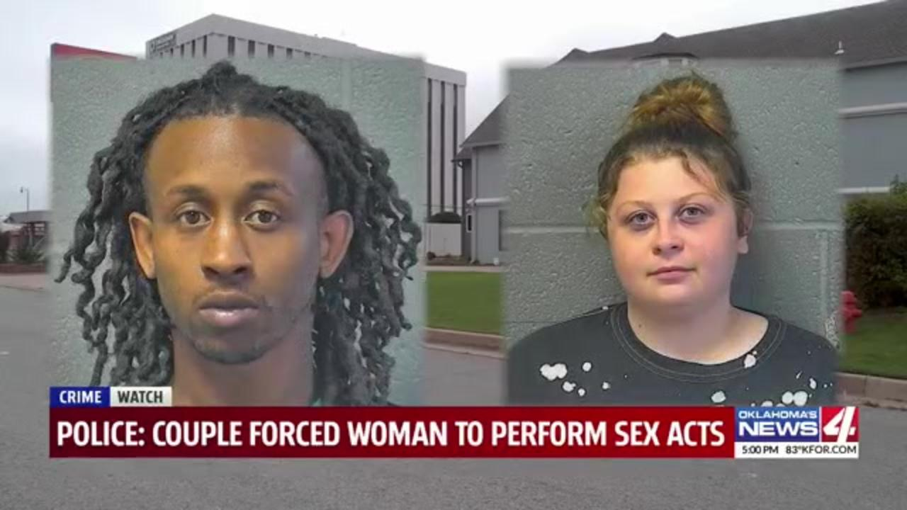 Couple arrested after woman claims they forced her into prostitution, held her against her will
