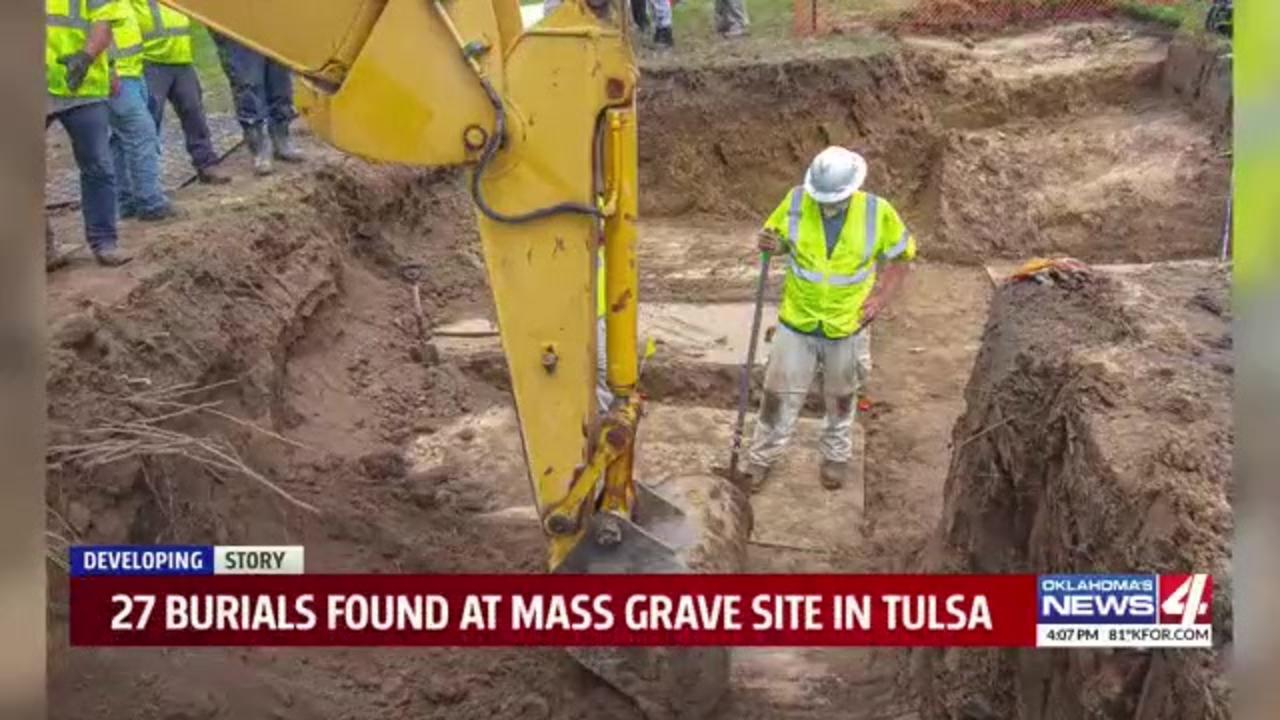 Crews start excavating possible Tulsa Race Massacre victims