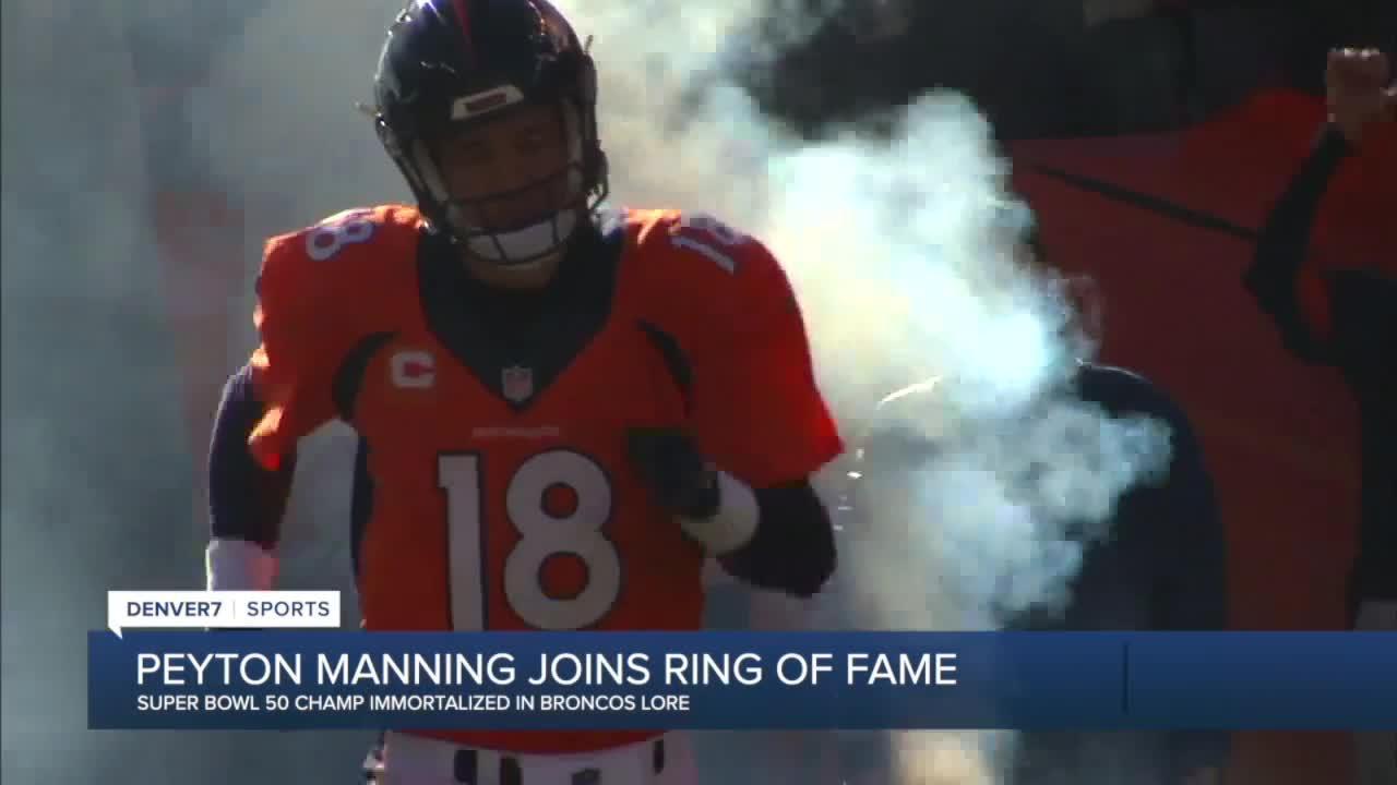 Peyton Manning elected to Broncos Ring of Fame