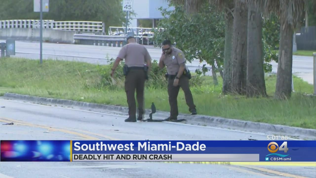 Police Looking For Red Honda In Connection To Fatal Miami-Dade Hit-&-Run Crash