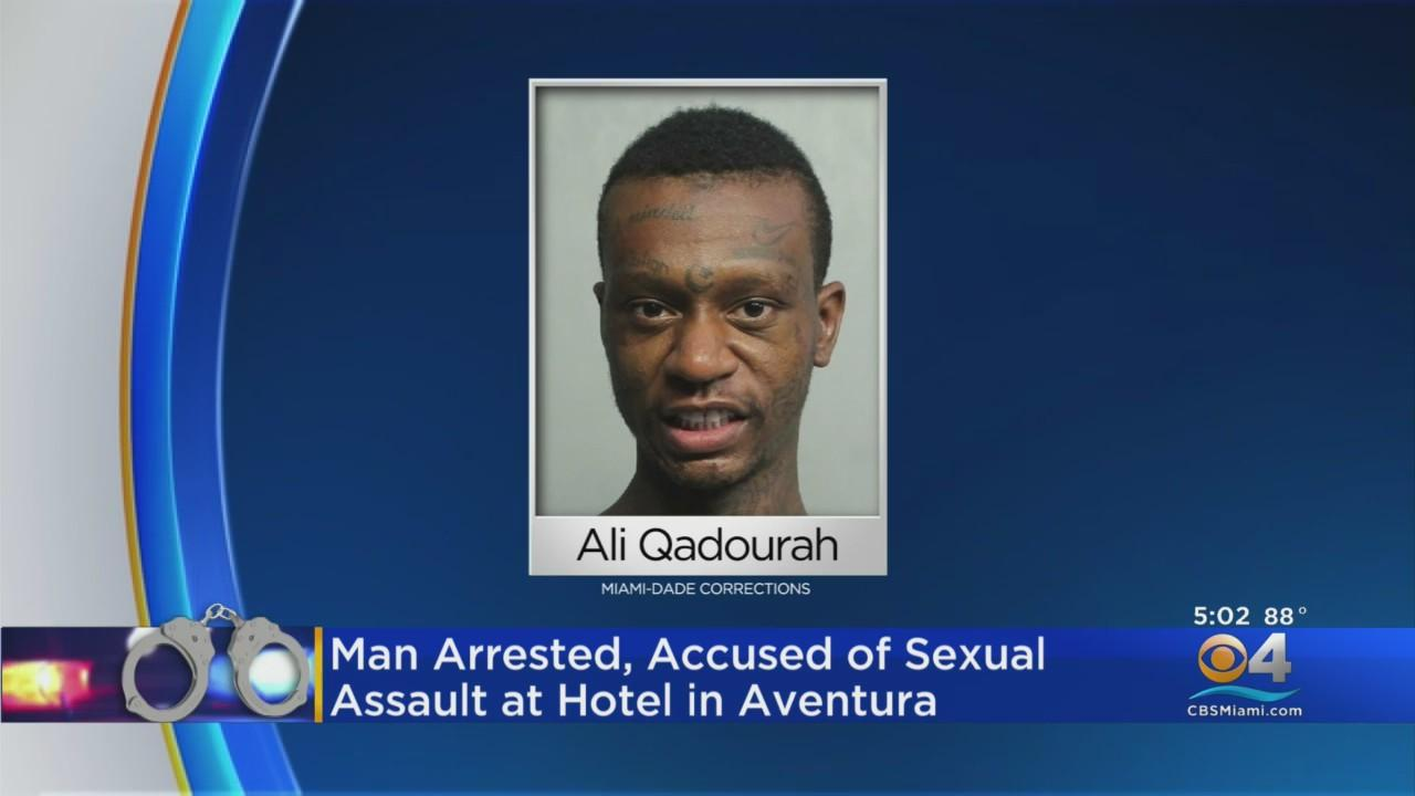 Man Faces Several Charges, Including Sexual Battery & Kidnapping In Aventura Hotel Attack