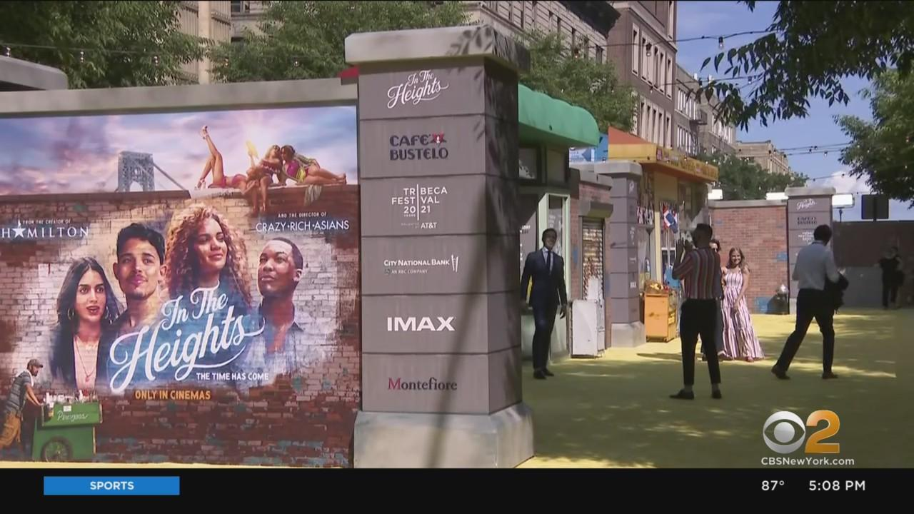 'In The Heights' Opens Tribeca Festival In Washington Heights