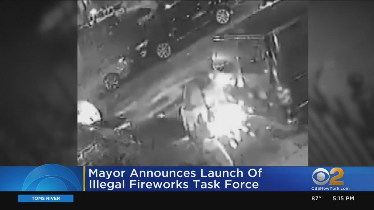 Mayor Announces Launch Of Illegal Fireworks Task Force