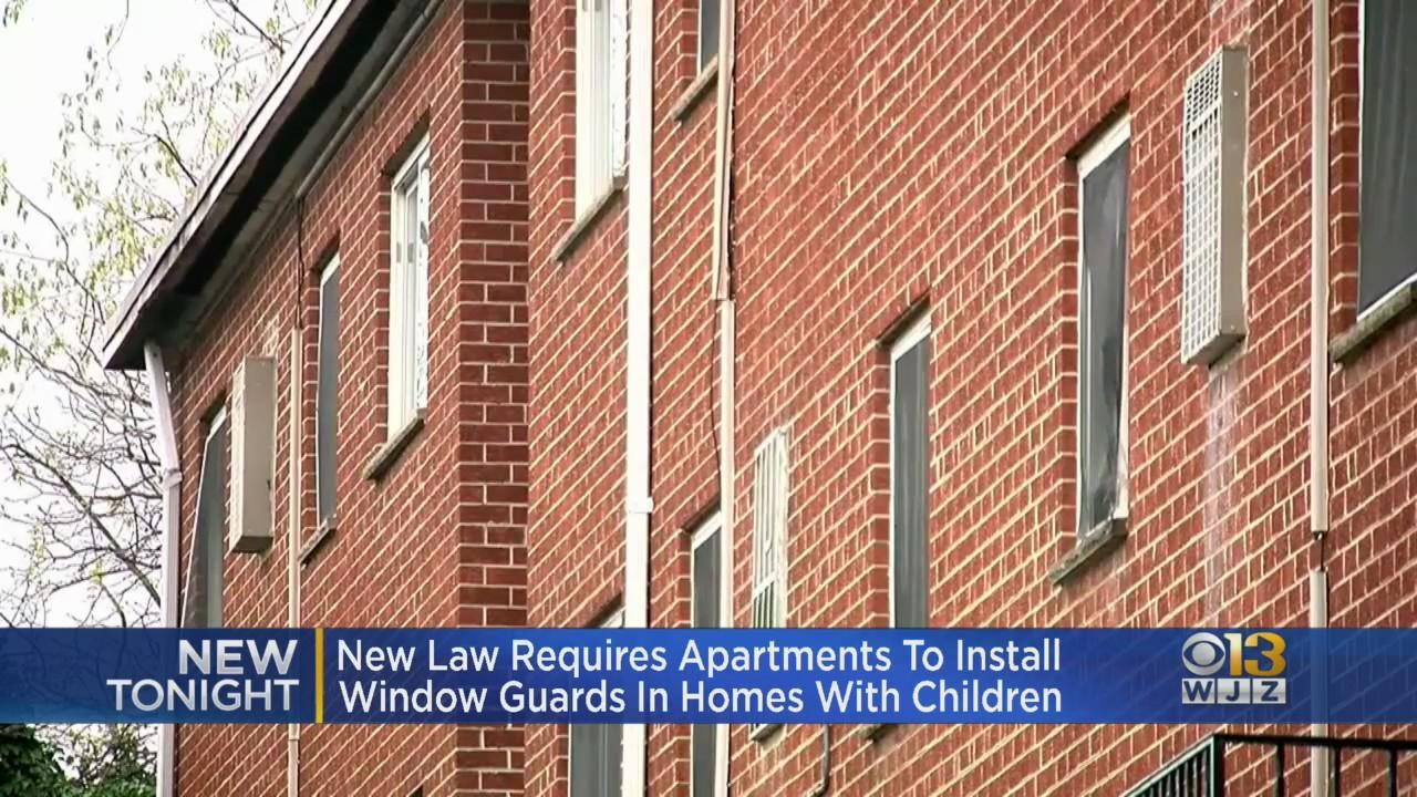 New Law In Montgomery Co. Wills Require Window Guards In Apartments With Children