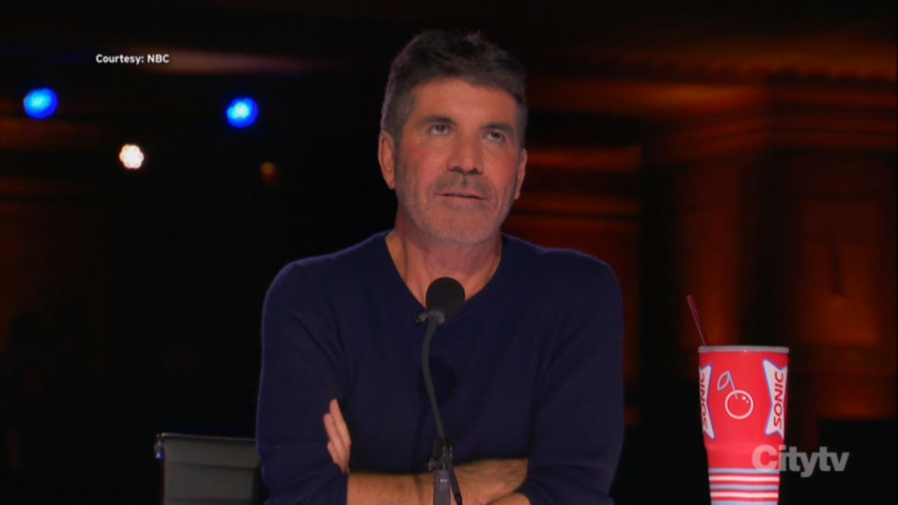 Simon Cowell Gets Emotional Over 'AGT' Golden Buzzer