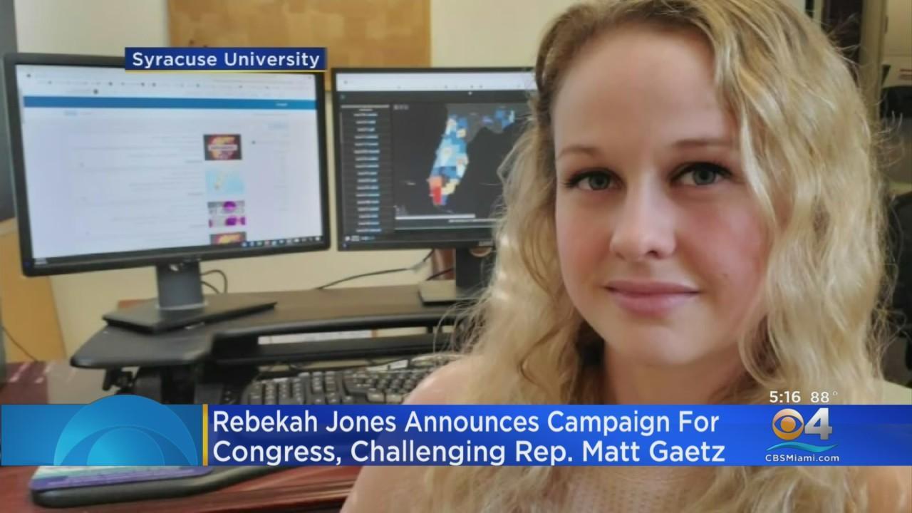 Rebekah Jones Plans To Run For Congress To Unseat Matt Gaetz