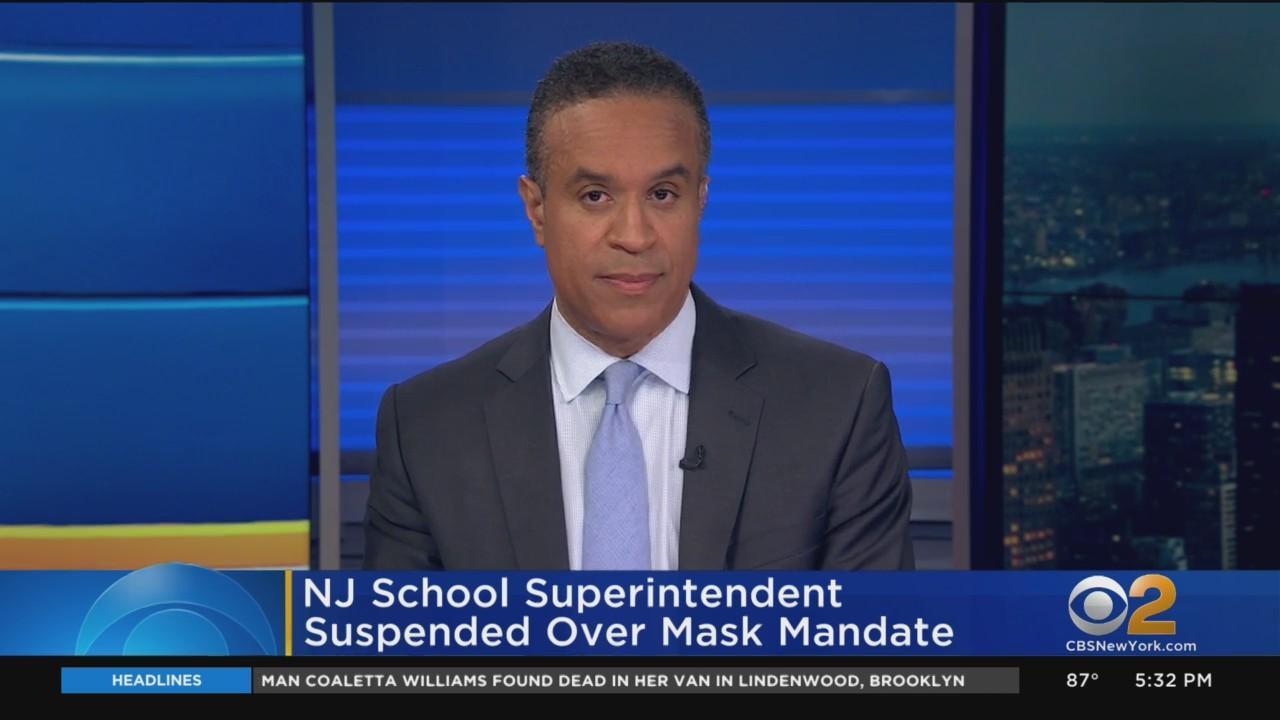 NJ School Superintendent Suspended Over Mask Mandate