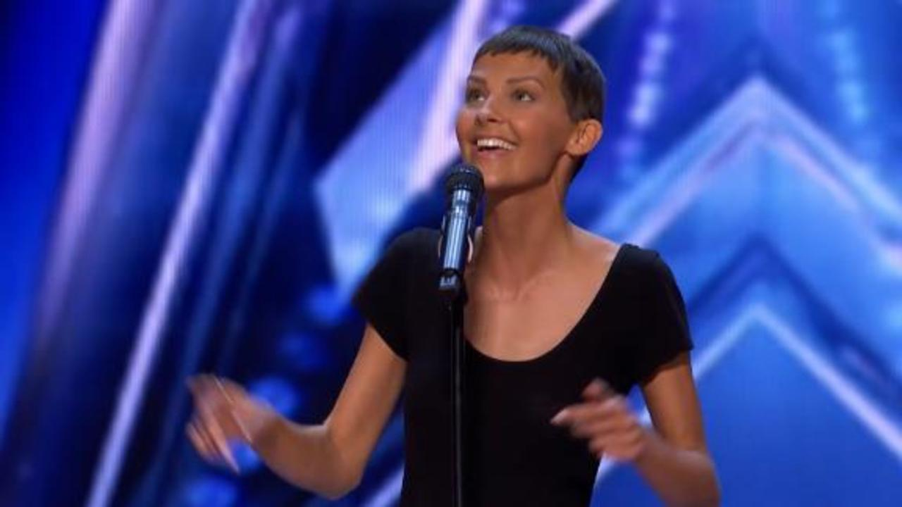 Simon Cowell hits golden buzzer for singer fighting cancer on 'AGT'